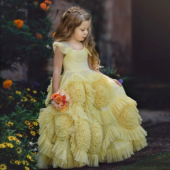 NWT Dollcake Fairytale Frock In Yellow Dress